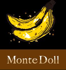 バナナケーキのモンテドール